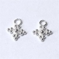 Sterling Silver Charms 10.5x8.3 mm - DG067