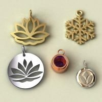 sterling silver charms category