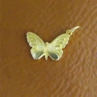 Sterling Silver Butterfly Charm 14x10mm - CH082