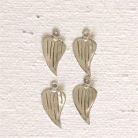 Sterling Silver Tiny Leaf Charm - LFT006