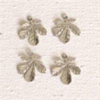 Sterling Silver Tiny Leaf Charm - LFT009